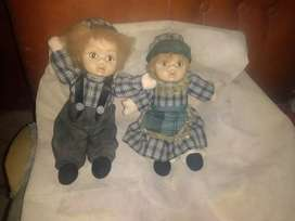 Pareja de muñecos