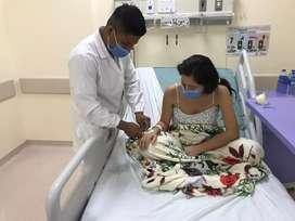 Ofrezco mis servicios como enfermero para cuidar adulto mayores o aplicación de medicamentos