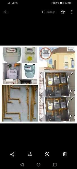Instalaciones Gas natural. Empresa certificada