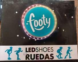 Zapatillas LED SHOES RUEDAS, LIQUIDO!