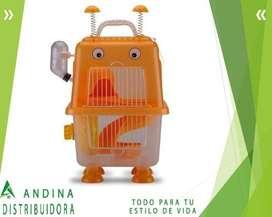 Jaula Hamster Mascota Robot