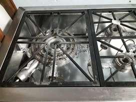 Remate estufa industrial con extractor