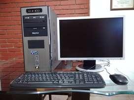 Computador de escritorio ideal para trabajo, estudio o juegos