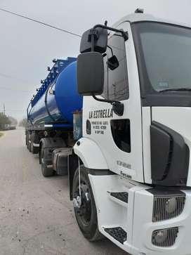 Camion ford cargo 1722  con semi remolque camion atmosferico año 2015 unico dueño