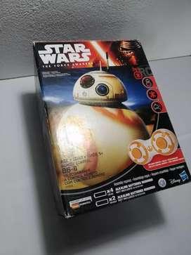 Juguete Star Wars BB-8  a control remoto y con micrófono