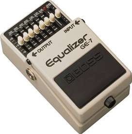 Pedal Boss GE-7 Guitarra Electrica Equilizer 7 Band