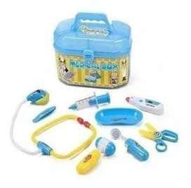Kit Set Maletin Neceser De Doctor Estetoscopio Env Inmediato
