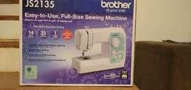 Maquina de coser Brother como nueva