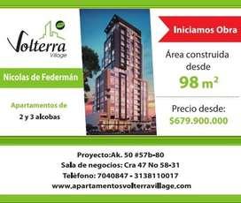 Fabulosos Apartamentos  Nicolás de Federman
