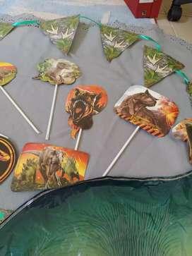 Dinosaurios- cotillón- cumple