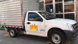 Vendo Luv Dmax furgon con trabajo