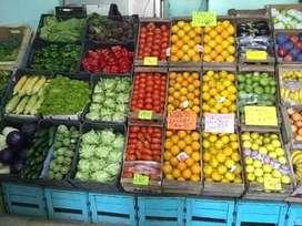 Vendo fondo de comercio de verdulera frutera y pet shop