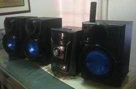 Equipo de sonido LG