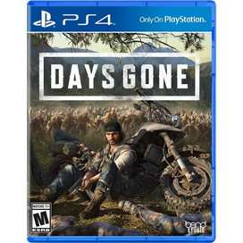 Days Gone PS4 nuevo, físico y sellado