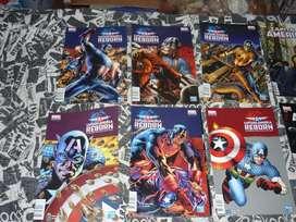 Comics Peru 21 Cap. America, Batman,