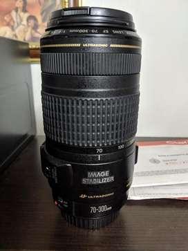 Lente Canon 70 300 Is Usm Supersonic