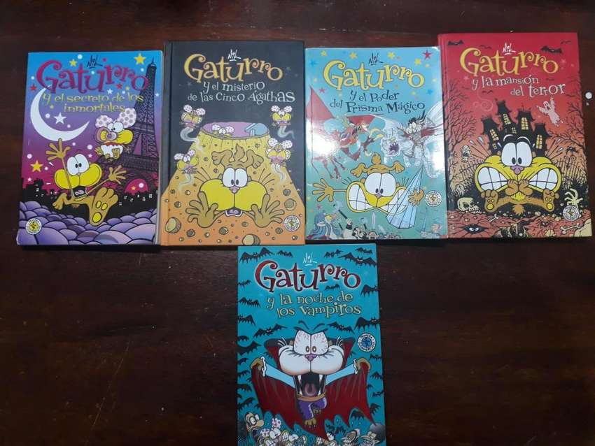 Libros De Gaturro en Impecable Estado! 0