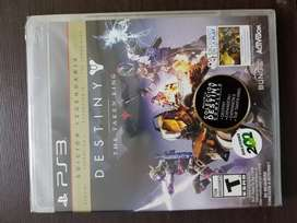 Vendo Destiny The Taken King Ps3 Nuevo Sellado Edicion Legendaria