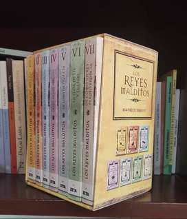Coleccion de libros los Reyes Malditos.