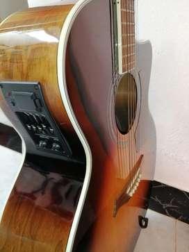 Guitarra Electroacustica Carlo Robelli Jumbo no es china