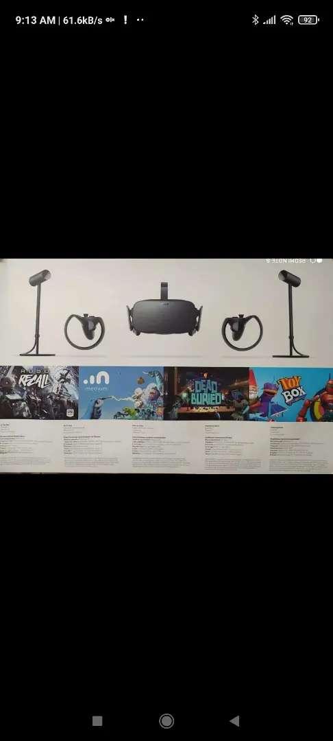 Gafas realidad virtual Oculus Rift