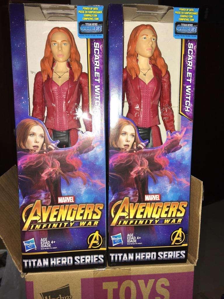 Marvel Bruja Escarlata Avengers 0