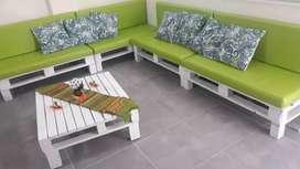 Mueble con palet