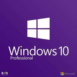 Windows 10 Professional Pro 32|64 Bit 1 Pc de por Vida Licencia Original