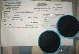 Electrodos redondos reutilizables