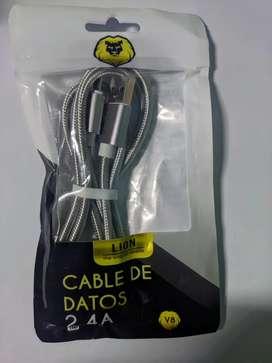 Cable de datos 2.4A  ONLY Micro-usb