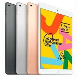 """Ipad 7ma Generacion 32GB Dorada Space Gray Pantalla 10.2"""" Nuevas Garantia Originales"""