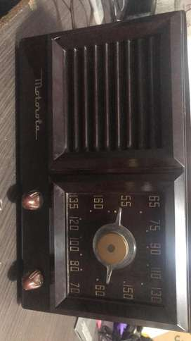 Radio Antiguo Motorola