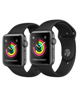 Apple watch series 3 (42mm, negro, nuevo sellado)