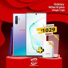 Samsung Note 10 plus Glow Nuevo Garantia