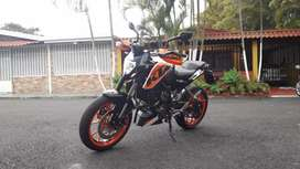 Vendo KTM duke 200 negociable