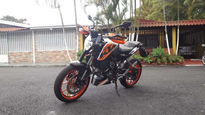 Vendo KTM duke 200 negociable 0