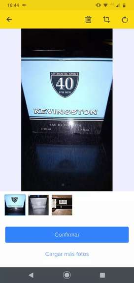 Perfume Kevingston De Hombre De 50ml