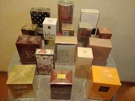 Perfumes para caballero y dama