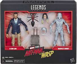 Figuras Marvel Legends 2 Pack Series Ant-man & Wasp