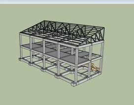 Cálculo de estructuras Hormigón Armado y Metalicas