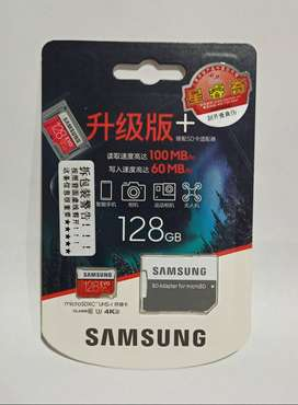 Memoria Microsd Samsung 128 Gb Micro Sd Video 4k Go Pro