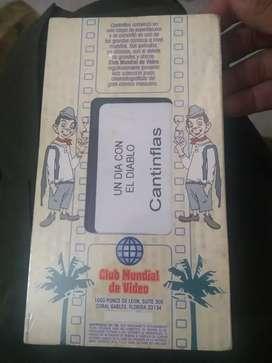Películas VHS cantinflas y Pedro infante