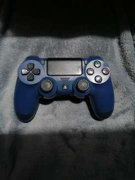 Control Dualshock 4 PS4 Inalámbrico Azul