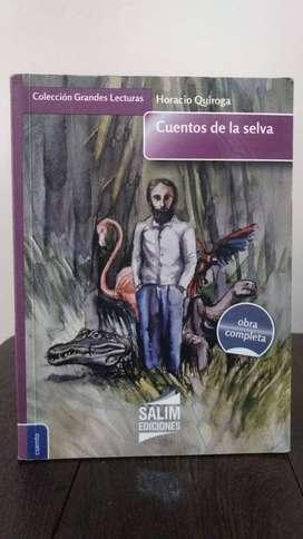 *Cuentos de la selva* Horacio Quiroga - Salim Ediciones - Colección Grandes Lecturas Obra completa