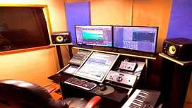 """""""Estudio de grabación"""" San juan de miraflores-IDM Records"""