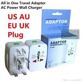Adaptador Enchufe Universal Viajero Ideal P Viaje Turismo