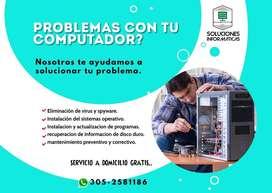 Reparacion de computadores y portatiles