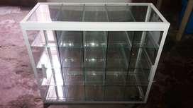 Vitrina marco de aluminio