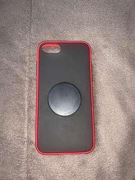 CASE PARA IPHONE 7 y 8 CON POPSOCKET