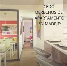 URGENTE Cedo Derechos Apartamento Madrid  la prosperidad